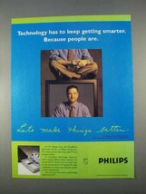 1996 Philips TV Ad - Technology Keep Getting Smarter - $14.99