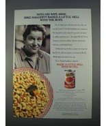 1996 Ro-Tel Diced Tomatoes and Green Chilies Ad - Wife Away - $14.99
