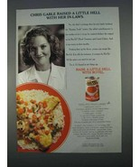 1996 Ro-Tel Diced Tomatoes and Green Chilies Ad - $14.99
