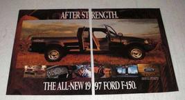 1997 Ford F-150 Pickup Truck Ad - $14.99