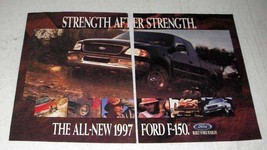 1997 Ford F-150 Pickup Truck Ad - Strength - $14.99