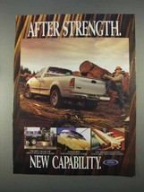 1997 Ford F150 Pickup Truck Ad - New Capability - $14.99
