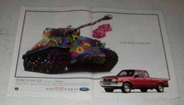 1997 Ford Ranger Pickup Truck Ad - Our Basic Concept - $14.99