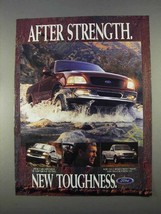 1997 Ford F150 Pickup Truck Ad - New Toughness - $14.99