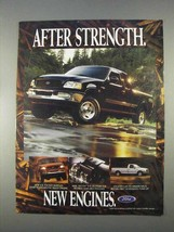 1997 Ford F150 Pickup Truck Ad - New Engines - $14.99