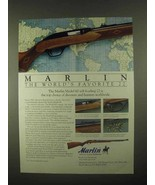 1997 Marlin Model 60 Rifle Ad - World's Favorite 22 - $14.99