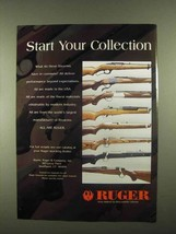 1997 Ruger Firearms Ad - Start Your Collection - $14.99