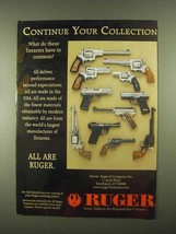 1997 Ruger Handguns Ad - Continue Your Collection - $14.99