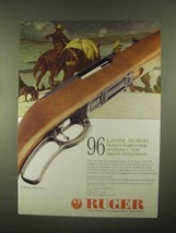 1997 Ruger Model 96 Rifle Ad - Today's Engineering - $14.99
