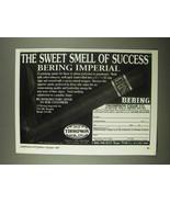 1997 Thompson Cigar Bering Imperial Ad - Success - $14.99
