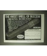 1997 Thompson Cigar Bering Robusto Cigar Ad - $14.99