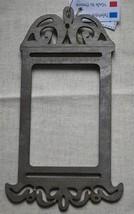 Rectangle Birdcage Metallic Gray wooden frame The Bee Company - $6.00