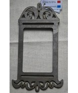 Rectangle Birdcage Metallic Gray wooden frame The Bee Company - $6.00