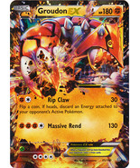 Groudon EX 85/160 Holo Rare Primal Clash Pokemon Card - $4.89