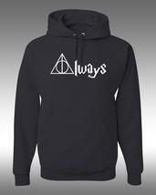 Harry Potter Clothing, ALWAYS,  Unisex Adult HOODIE - $22.19+