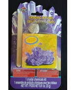 GROWING CRYSTALS KIT Science by Me Grow Your Own Purple Crystal Activity... - $5.49