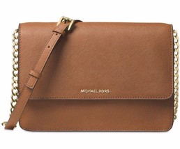 *NWT* Authentic Michael Kors Daniela Large Leather Crossbody Popular 32T... - $138.57