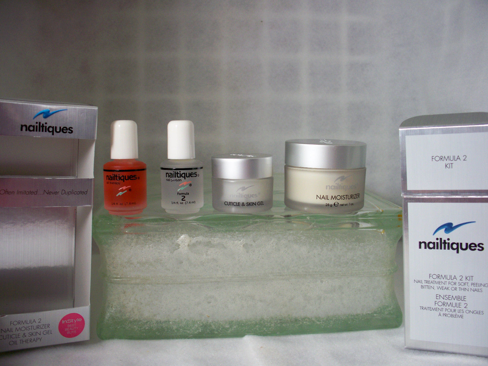 Primary image for Nailtiques Formula 2 Kit w/ moisturizer, Cuticle Gel & Nail oil therapy