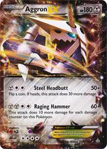 Aggron EX 93/160 Ultra Rare Primal Clash Pokemon Card - $5.99