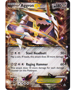 Aggron EX 93/160 Ultra Rare Primal Clash Mint - $5.99