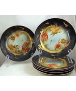 Mid century Japanese porcelain golden Dragonwar... - $25.00