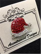 CLEARANCE Monster Santa Hat EXCLUSIVE Magnet Needle Minder Accoutrement ... - $12.00