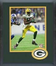 Jared Cook 2016 Green Bay Packers - 11 x 14 Team Logo Matted/Framed Photo  - $42.95