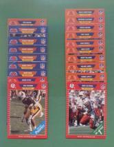 1989 Pro Set New England Patriots Football Set - $3.99