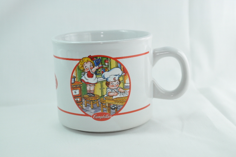 Campbells Kids in the Kitchen 2006 coffee mug cup
