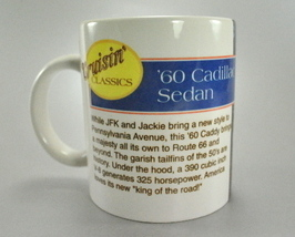 Cruisin Classics 1960 Cadillac Sedan Coffee Mug Cup - $6.25