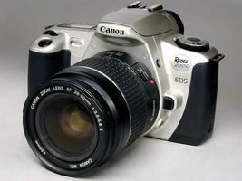 Students: Canon Eos Rebel 2k With Canon Af Ef 28-80mm f/3.5-5.6 Ii Lens Mi Nty ! - $79.00