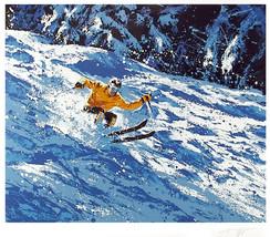 """Harry Schaare """"Skiing"""" 1979 - S/N Serigraph - R... - $250.00"""