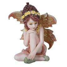 "Acorn Garden Fairy Flower Small Statue Home Fairy Garden 2.75"" - $16.78"