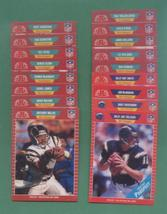 1989 Pro Set San Diego Chargers Football Set - $3.99