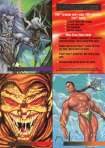 1995 Marvel Flair Annual Uncut Promo Sheet image 2
