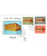 Vatican City First Day Cover EUROPA CEPT Stamps... - $1.50