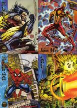 1994 Marvel Universe Uncut Promo Sheet - $2.99