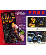 Edge City CCG Uncut Promo Card Sheet - $9.99