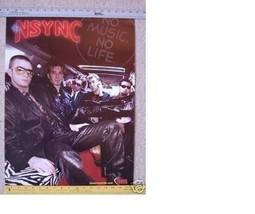 N SYNC Promo POSTER collectible timberlake N SYNC - $18.80