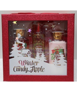 Bath And Body Works Winter Candy Apple 3 Piece ... - $34.99