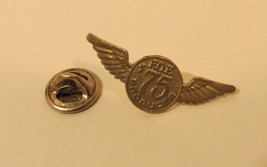 Vintage Fraternal Order Eagles  FOE '75 Producer Lapel Pin F19 Wings - $12.25