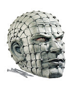 Harvesting Human Souls Human Head Spiked With Nails Evil Scary Halloween... - $74.14 CAD