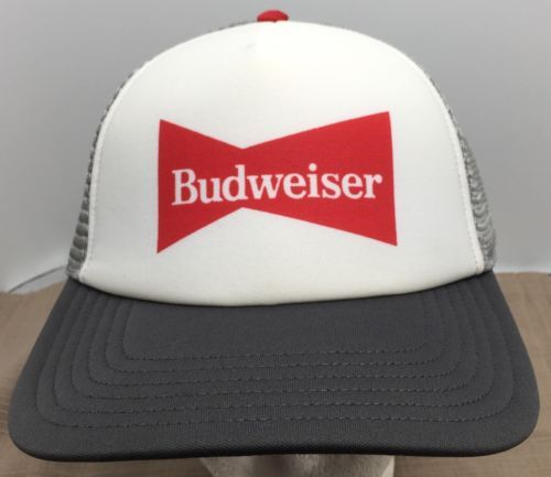 d011a81b Budweiser Vintage 80's Foam Mesh Snapback and 25 similar items. 12