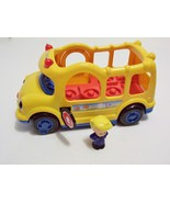 Fisher-Price Little People Lil' Movers School Bus Music Sounds Figure 2005  - $9.99