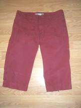 Old Navy Cranberry Cotton Short Capris Size 1 - $16.44