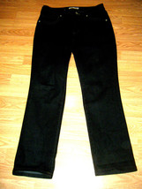 CHIC0'S PLATINUM ABALONE STRETCH DK DENIM SKINNY JEANS SIZE CHICO'S 0.5 ... - $18.37