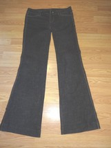 White HOUSE/BLACK Market Noir Stretch Dk Denim Flare J EAN S Size 2R - $29.02