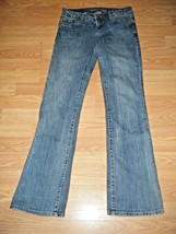AMERICAN EAGLE HIPSTER STRETCH DENIM JEANS SIZE 2 - $17.41