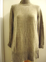 EXPRESS GRAY PULLOVER LONG SLEEVE SWEATER SIZE M - $18.37