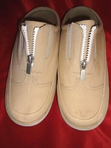 Naturalizer Jump Canvas Zip Front Sneaker Shoes Size 8M - $19.70 CAD